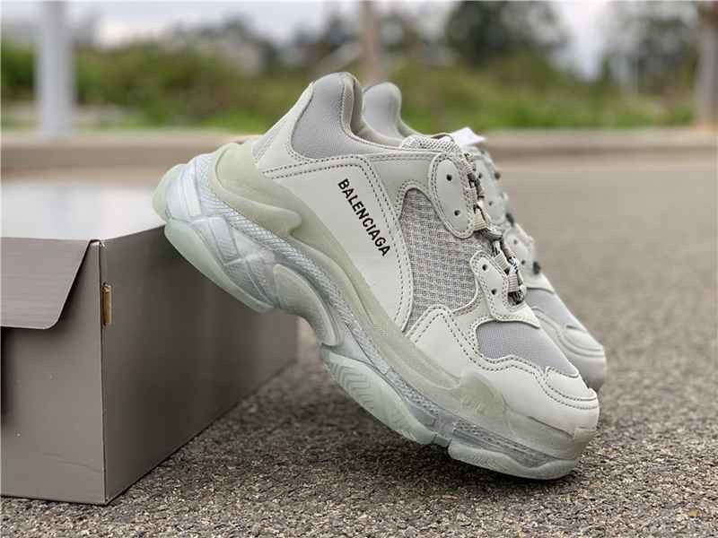Balenciaga Triple S Beige Green Yellow 483513 W06E3 7070