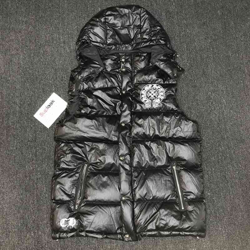 Chrom-e Heart-s down jacket vest