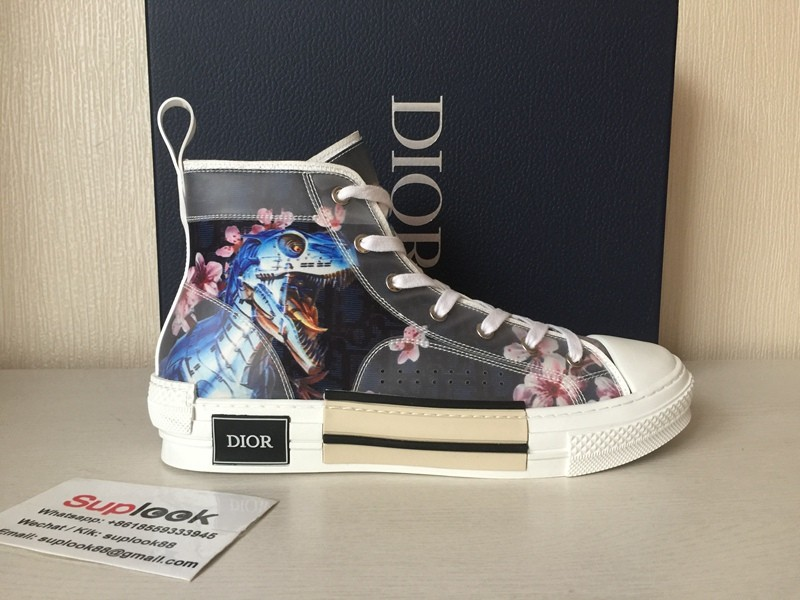 D-I-O-R B23 Sneaker High Blue