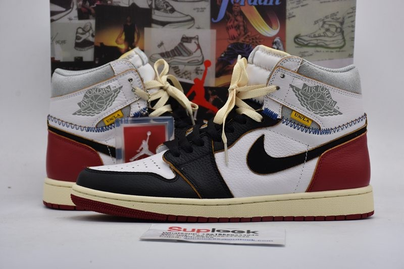 Jordan 1 Retro High Union Los Angeles Black Toe BV1300-106