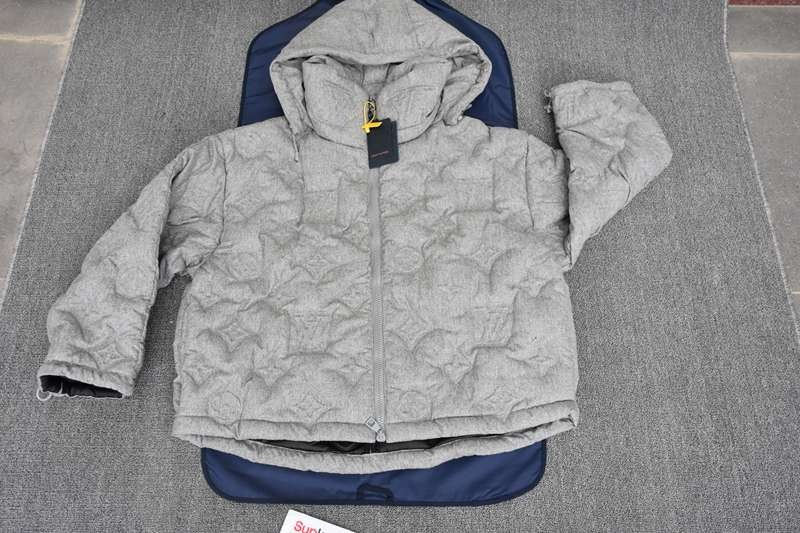 L-V MONOGRAM BOYHOOD PUFFER JACKET