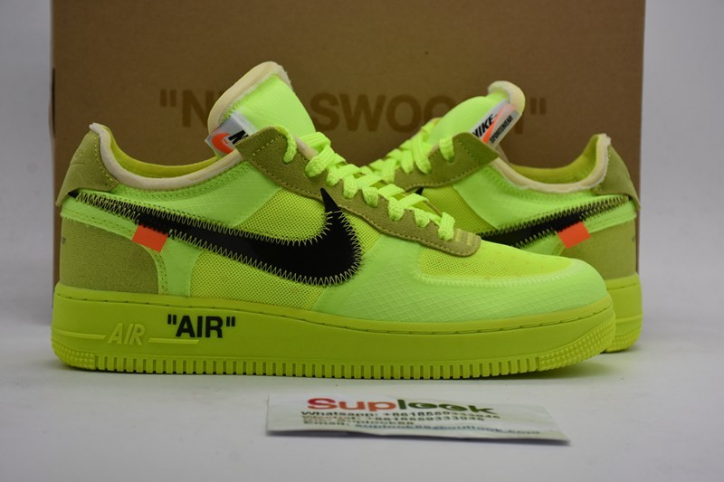 Nike Air Force 1 Low O-f-f-White Volt