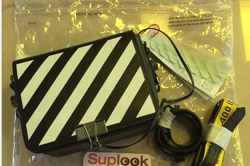 (WU$190 pls contact Whatsapp+8618559333945 to make roder)  OFF WHITE BINDER CLIP BAG REVIEW