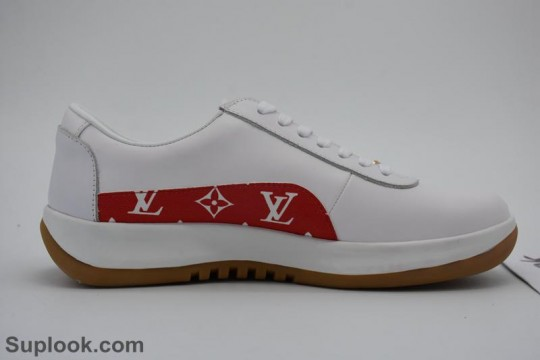 In Stock Pls Contact to Check Price (WU $130) Supreme X White Shoes FREE SHIPPING WORLDWIDE