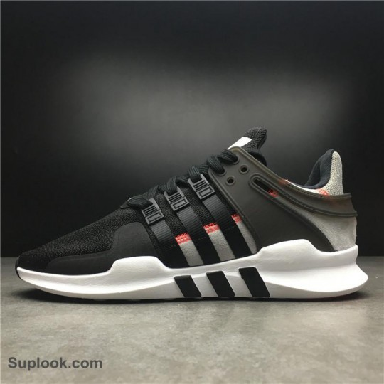 Adidas Equipment Support ADV Black Grey FREE SHIPPING WORL DWIDE
