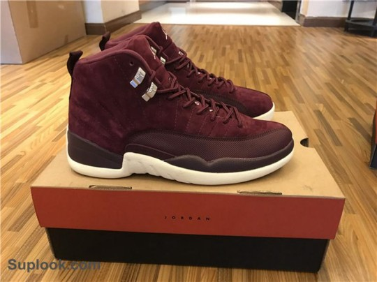 Air Jordan 12 Bordeaux FREE SHIPPING WORLDWIDE