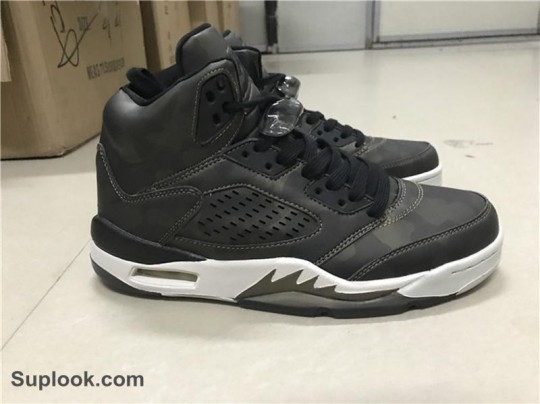 Air Jordan 5 Black White  FREE SHIPPING WORLDWIDE