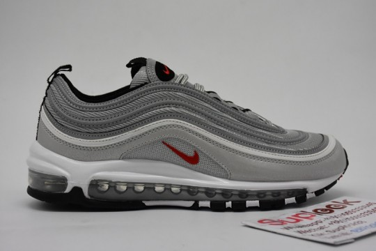Nike Air Max 97 Silver Bullet FREE SHIPPING WORLDWIDE