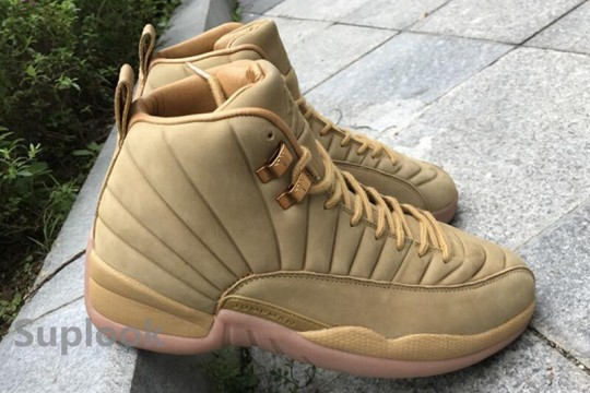 "AJ 12  PSNY x Air Jordan 12 ""Wheat""  FREE SHIPPING WORLDWIDE"
