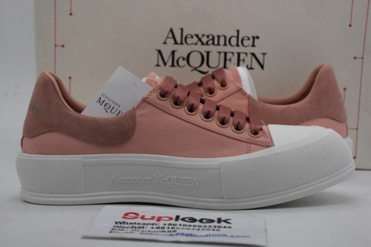Alexande-r McQuee-n Deck lace-up sneakers