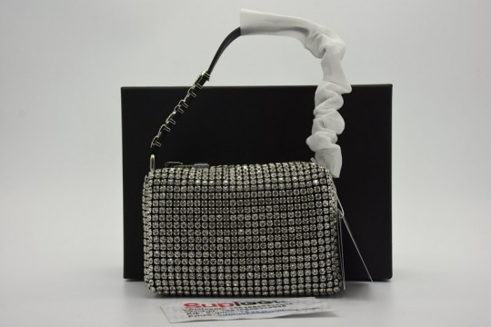 A-lexander W-ang Heiress diamond clutch