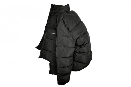 Balenciaga Down Jacket Black Free Shipping World Wide