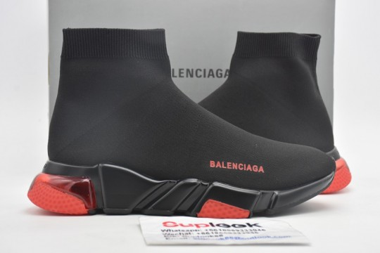 Balenciag-a Speed Clearsole Red