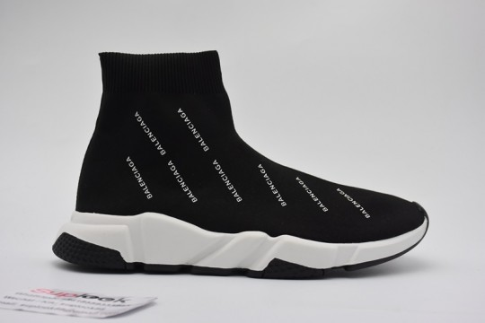 (WU$130)Balenciaga Speed Trainer Black 3
