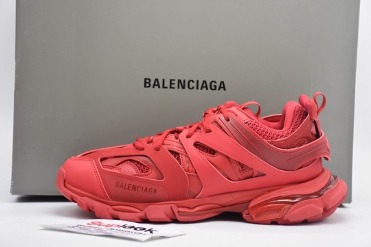 Balenciag.a Track Trainer Red