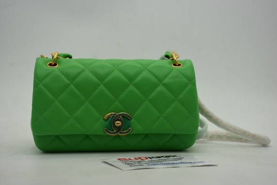 Chane-l Green Bag