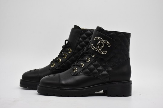 C-hanel low boots