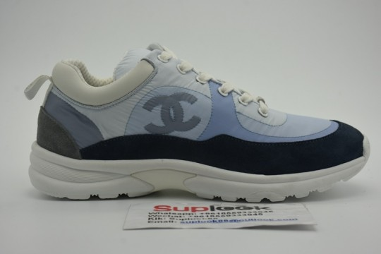 Chane-l Low Top Trainer CC Blue