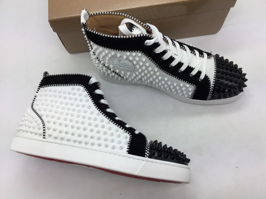 C-L Sneaker High White Black