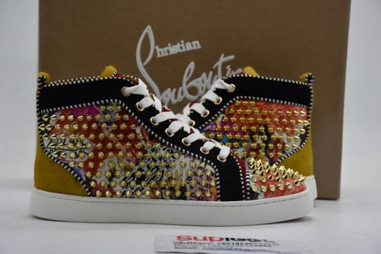 Christia.n Loubouti.n high-top sneakers
