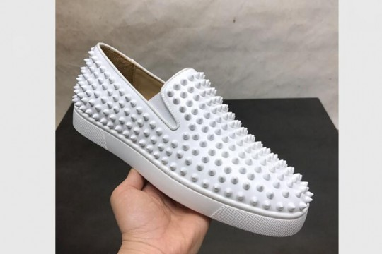 Christian Louboutin White Low