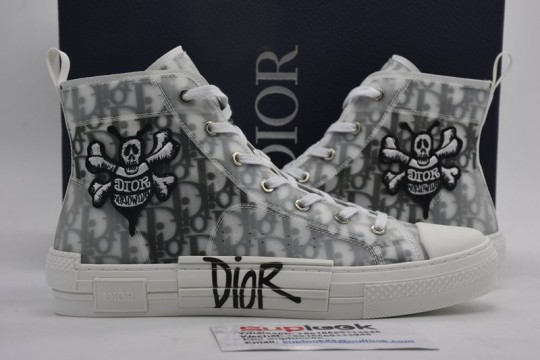 Dio-r And Shawn B23 High Top Bee Embroidery