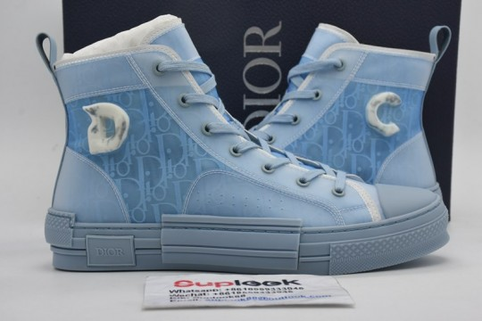 Dio-r B23 High Top Daniel Arsham Light Blue