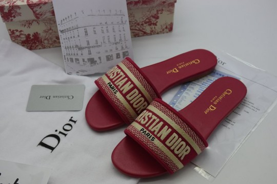 (WU$120)D-i-o-r Slipper