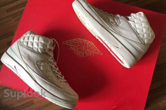 "Don C x Air Jordan 2 ""Beach"" FREE SHIPPING WORLDWIDE"