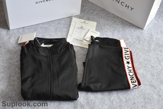 In Stock Pls Contact to Check Price and Size (WU$179)  Givenchy Men Women Sport Sweat Suits Tracksuits Jacket  FREE SHIPPING WORLDWIDE