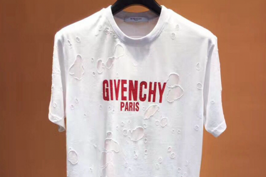 (WU$100 pls contact Whatsapp+8618559333945 to check size before order) Givenchy T shirt white