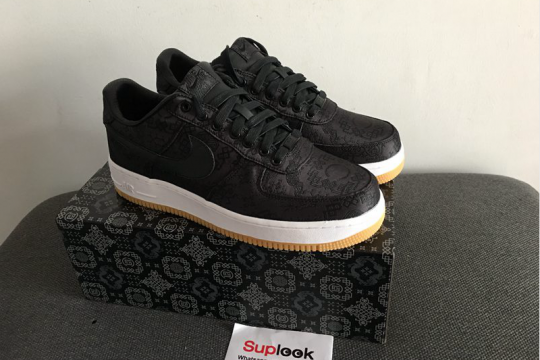 Air Force 1 Clot x Fragment x  PRM Black