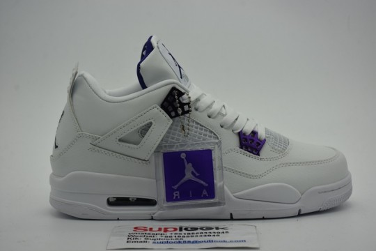 Jordan 4 Retro Metallic Purple CT8527-115