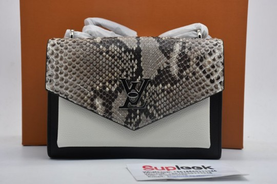 L-V Crossbody Bag Snake leather