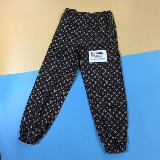 L-oui-s V-uitto-n GRAPHIC MONOGRAM NYLON JOGGING TROUSERS