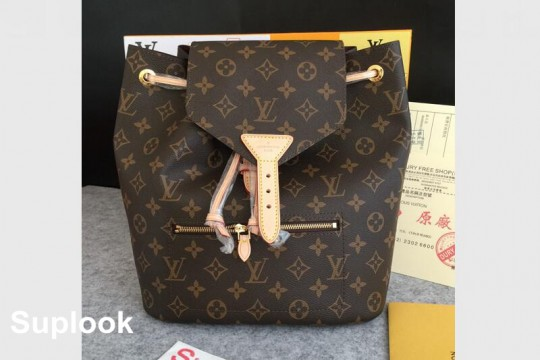 (WU$260 pls contact whatsapp+8618559333945 to make order) L-V MONTSOURIS BACKPACK