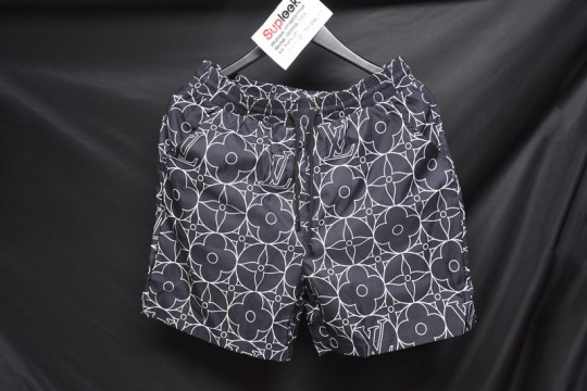 L-ouis V-uitton navy blue shorts