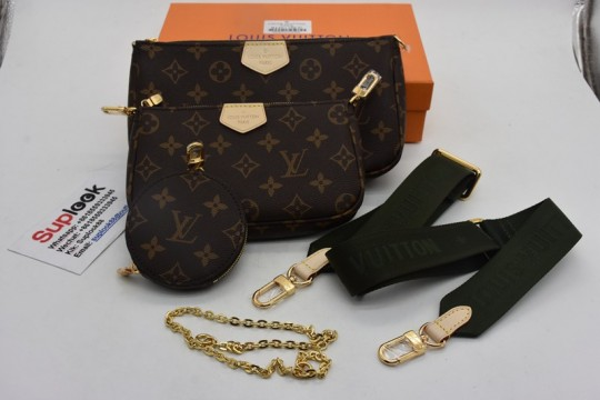 L-V Multi Pochette Accessories Bag
