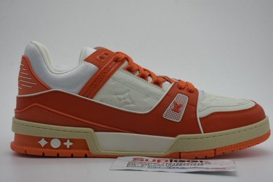 L-V Trainer sneaker orange