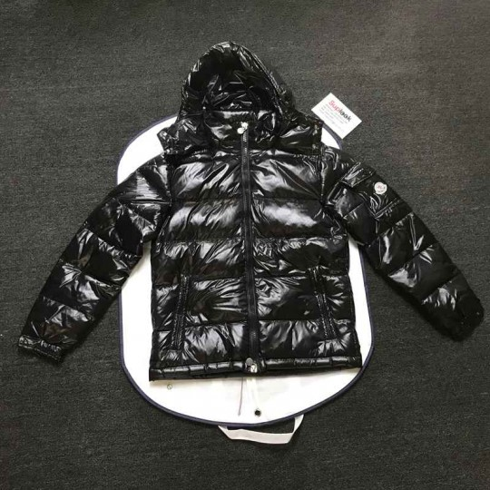 Moncle-r black down jacket