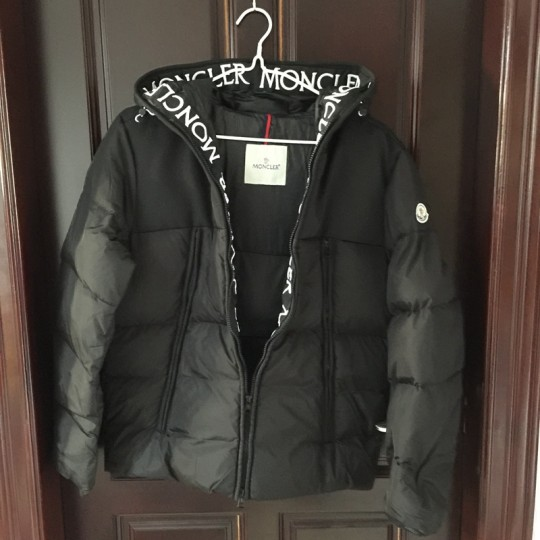M-oncler Down Jacket Black (Pls contact whatsapp +8618559333945 to check size and make order)