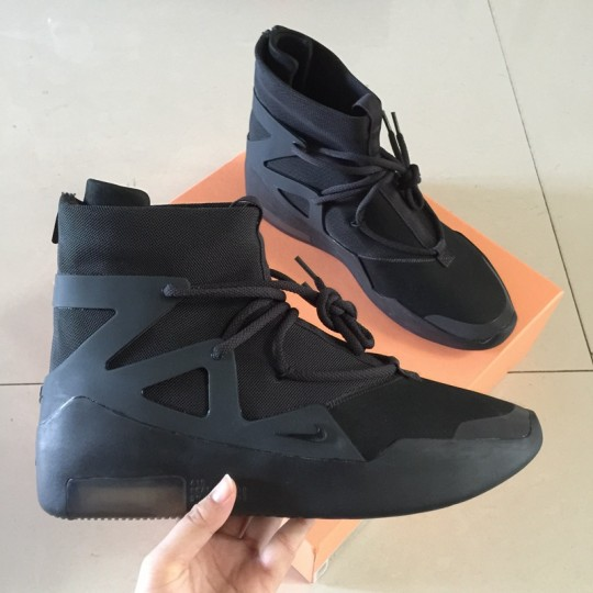 (WU$245) Nike Air Fear of God 1 All Black
