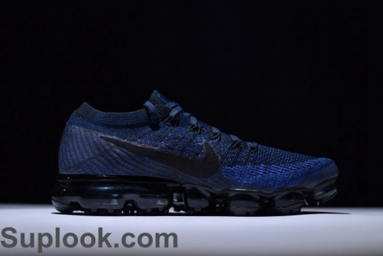 NIKE AIR VAPORMAX FLYKNIT COLLEGE NAVY FREE SHIPPING WORLDWIDE