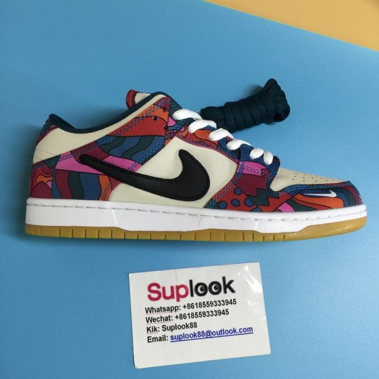 Nike SB Dunk Low Pro Parra Abstract Art (2021)DH7695-600