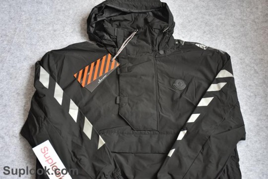 In Stock Pls Contact to Check Price and Size (WU$180) Off White Coat Black FREE SHIPPING WORLDWIDE