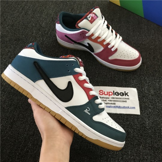 Parra x Nike SB Dunk Low FRIENDS AND FAMILY EDITION DH7695 100