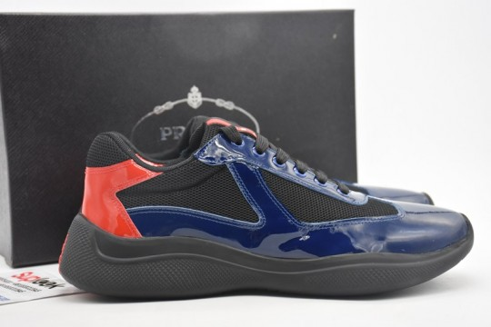 P-rada America's Cup bicycle fabric sneakers