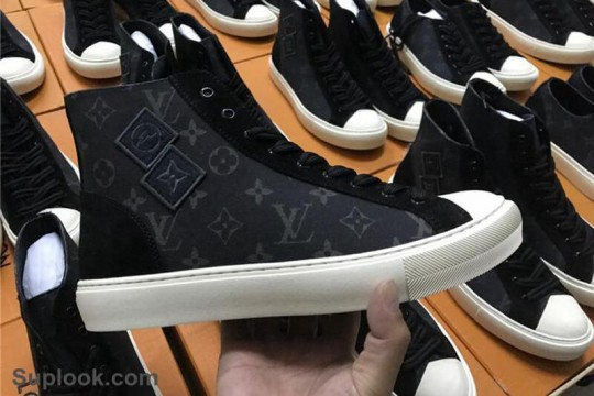 (WU$130 pls contact +8618559333945 before order) L-V Sneaker High FREE SHIPPING WORLDWIDE