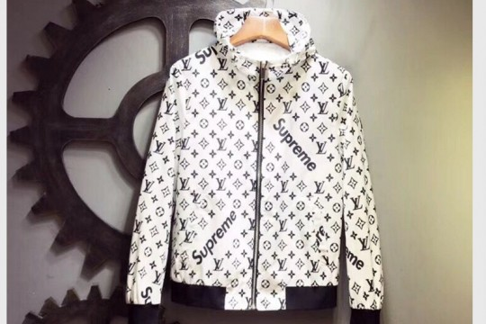 (WU$220 Pls contact Whatsapp +8618559333945 to make order )L-V SUPREME Jacket FREE SHIPPING WORLDWIDE