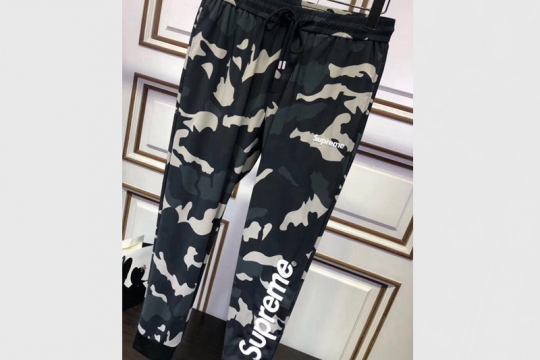 (WU$149 Pls contact whatsapp +8618559333945 to make order) Superme Pants